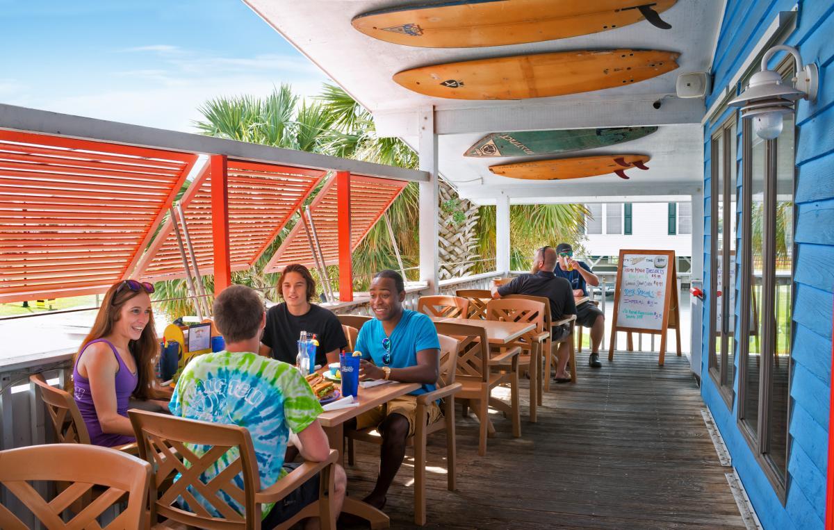 Hang Ten Restaurant Carolina Beach