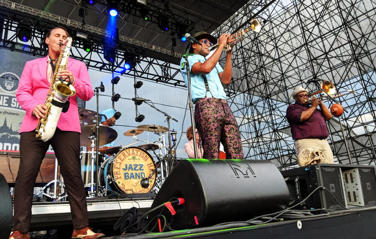 The Preservation Hall Jazz Band performs at Musikfest