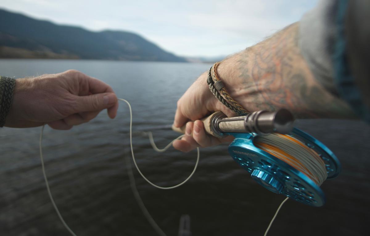 Fishing in Kamloops, BC