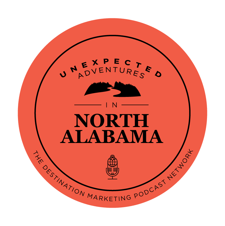 Unexpected Adventures in North Alabama Podcast Logo