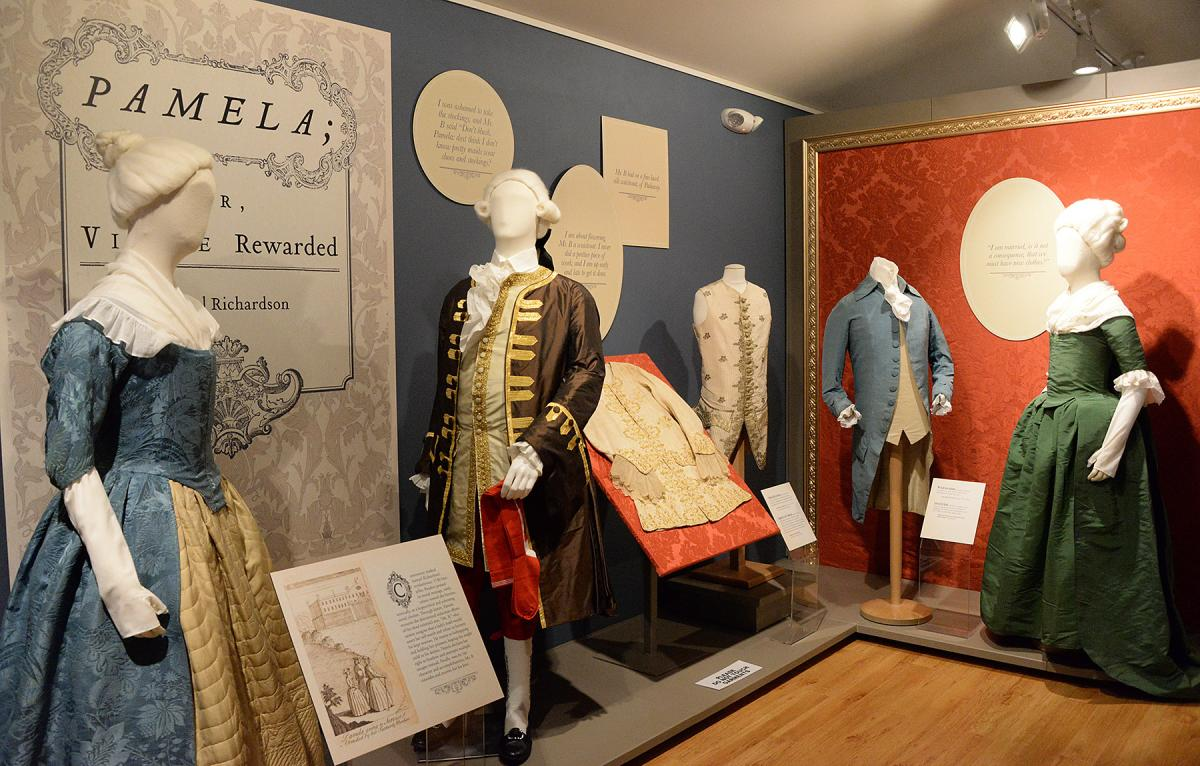 Mannequins At The Fashion Archives & Museum In The Cumberland Valley