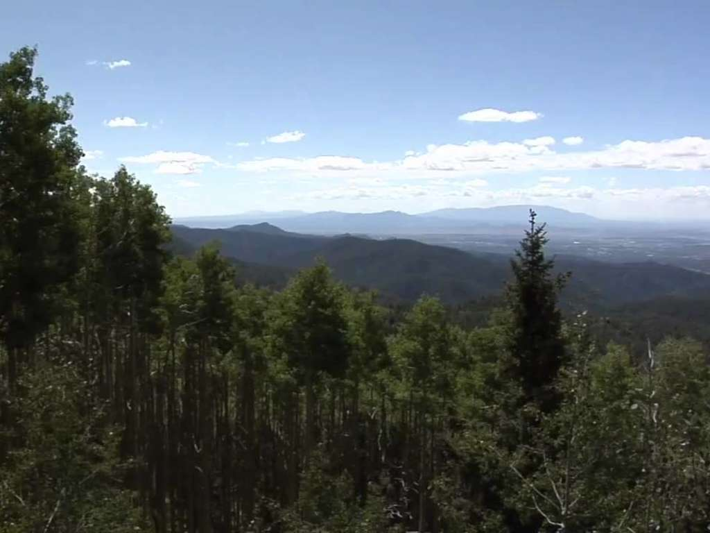 Santa Fe National Forest Scenic Byway New Mexico Tourism Travel Vacation Guide