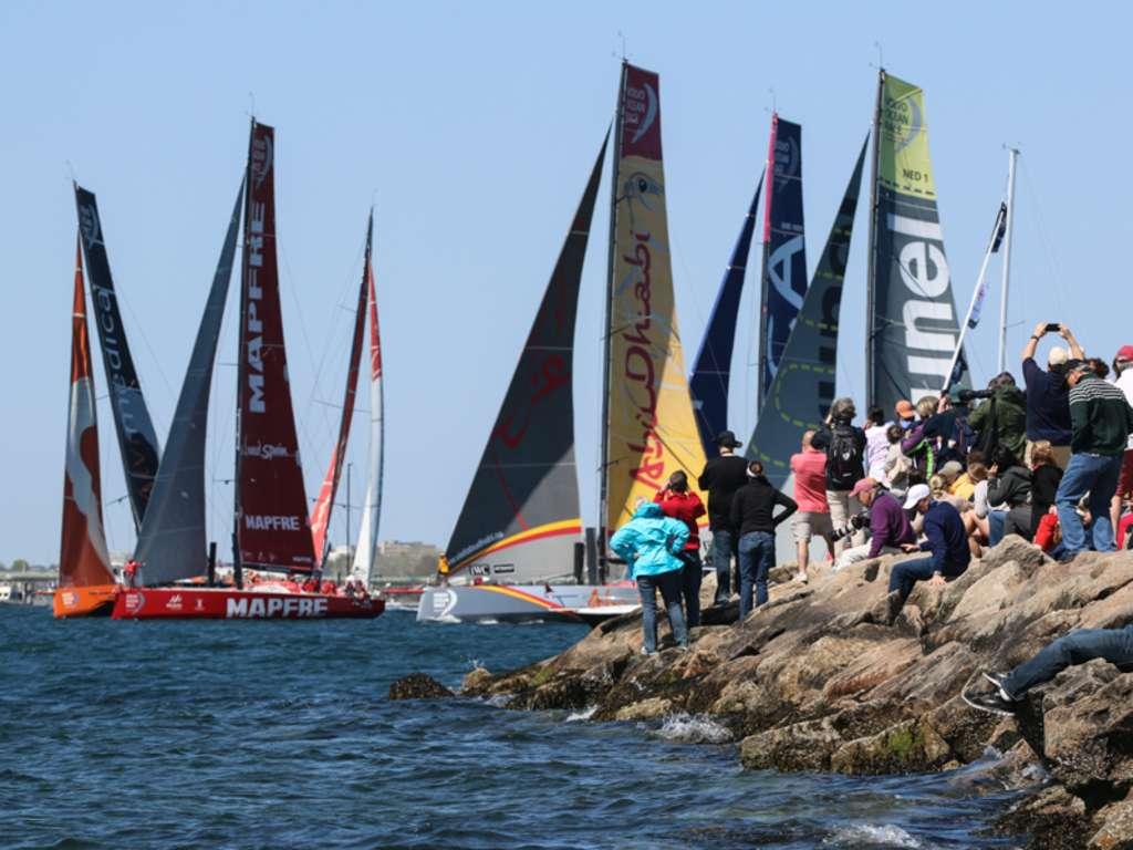 Volvo Ocean Race-Newport