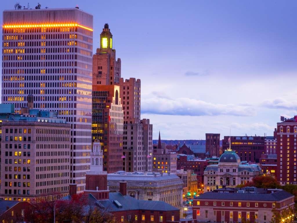 Downtown Skyline-Providence