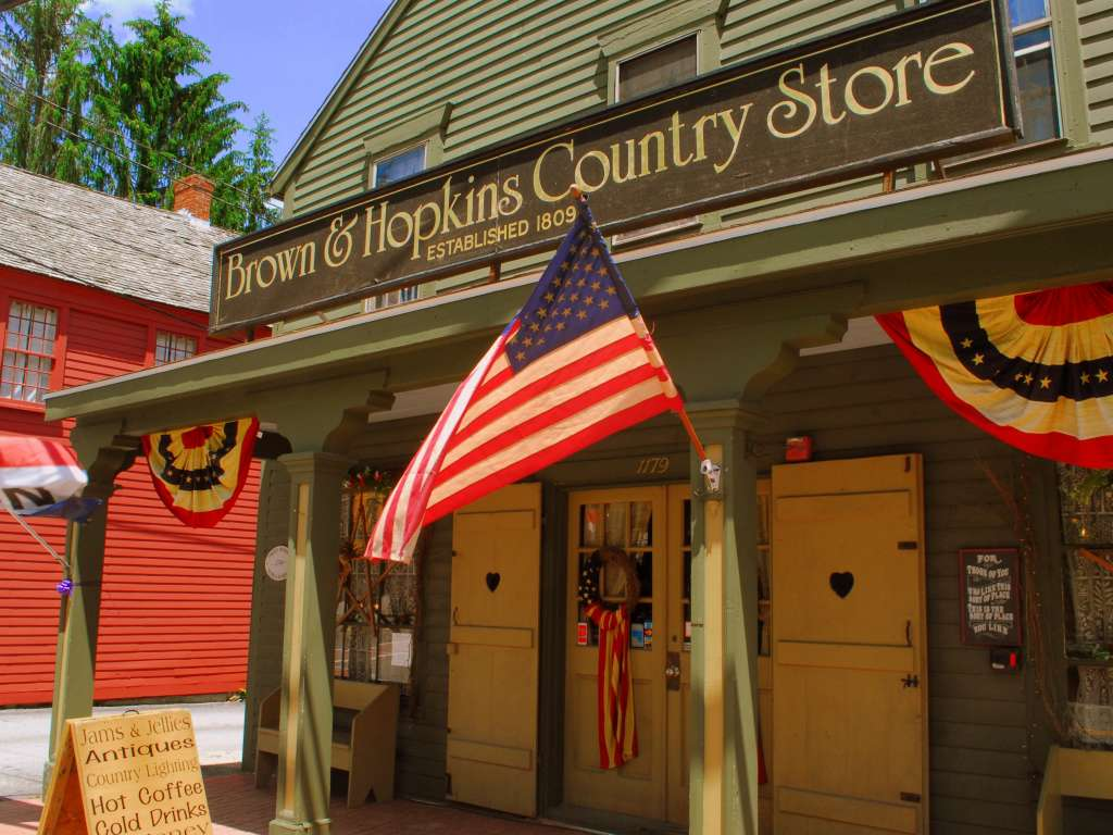 Brown and Hopkins general store, Chepachet