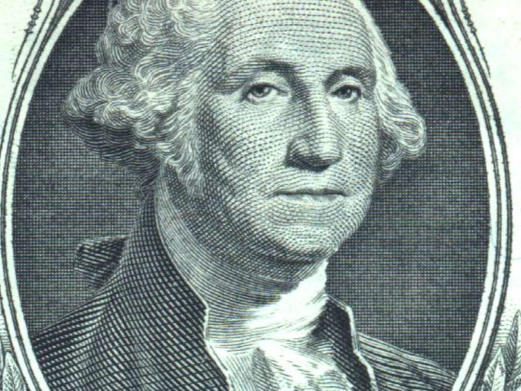 George Washington on the Dollar Bill