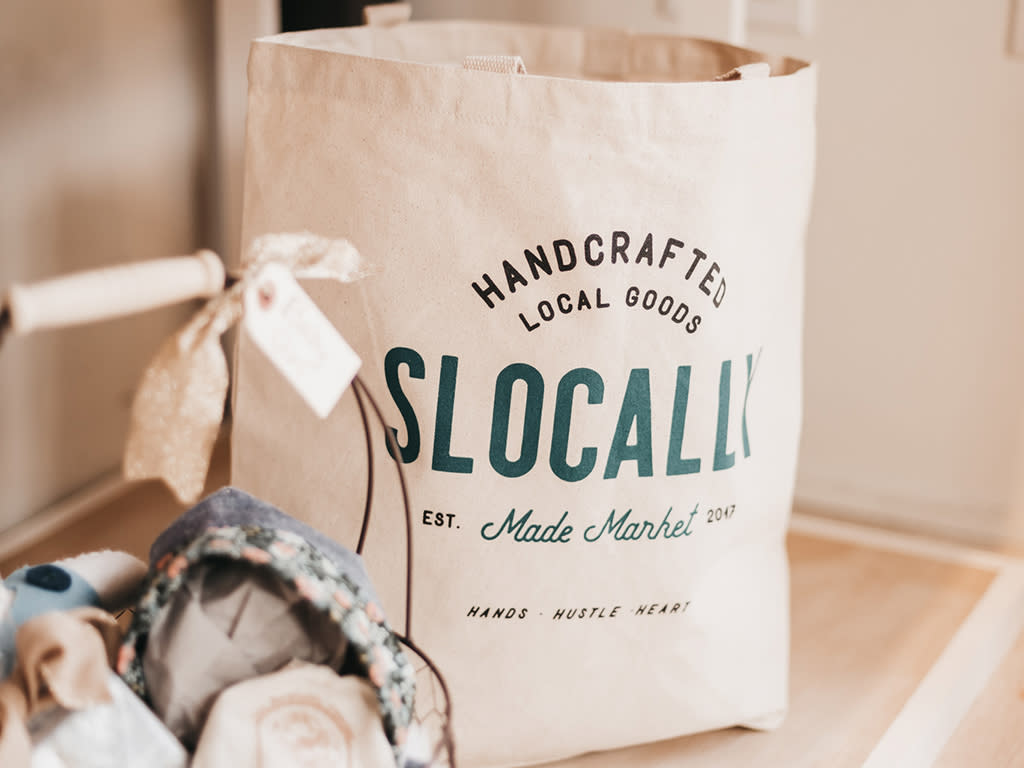 SLOCALLY Made Tote