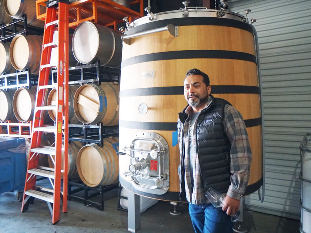 Wine Maker Edgar Torres
