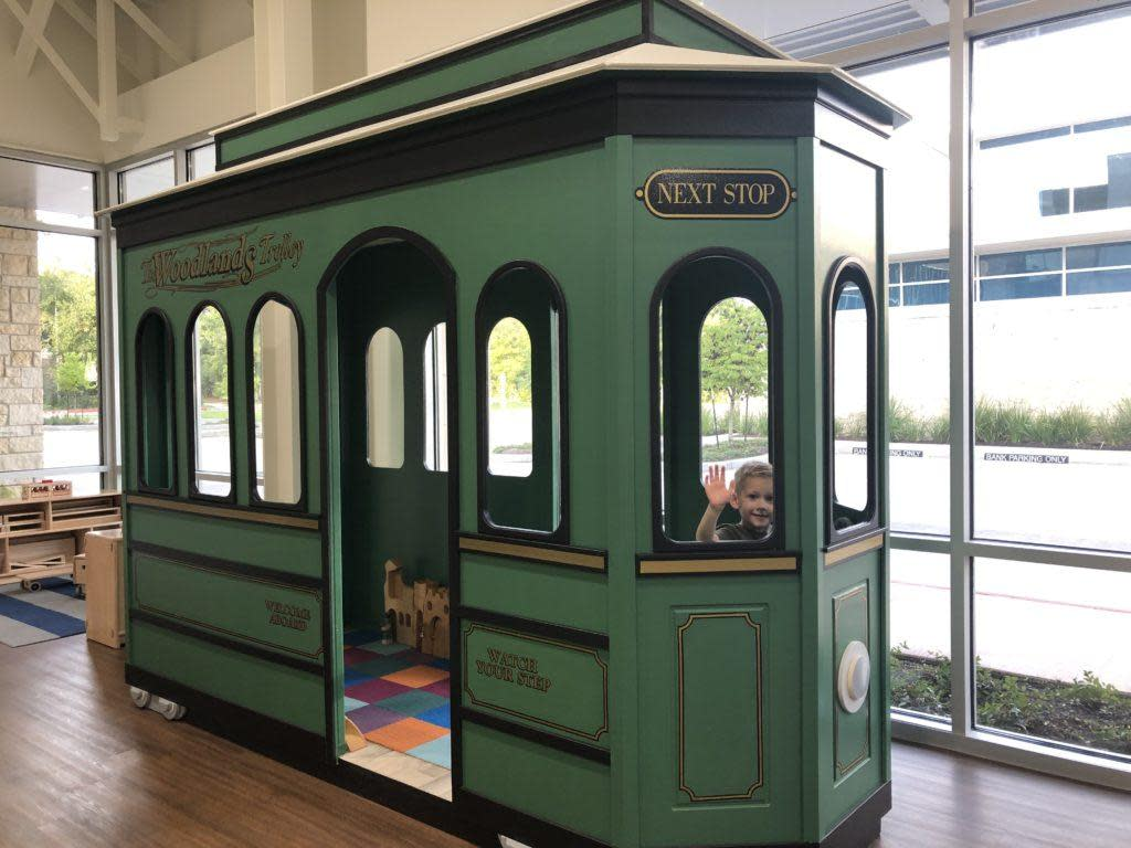 Trolley at Play Street Museum
