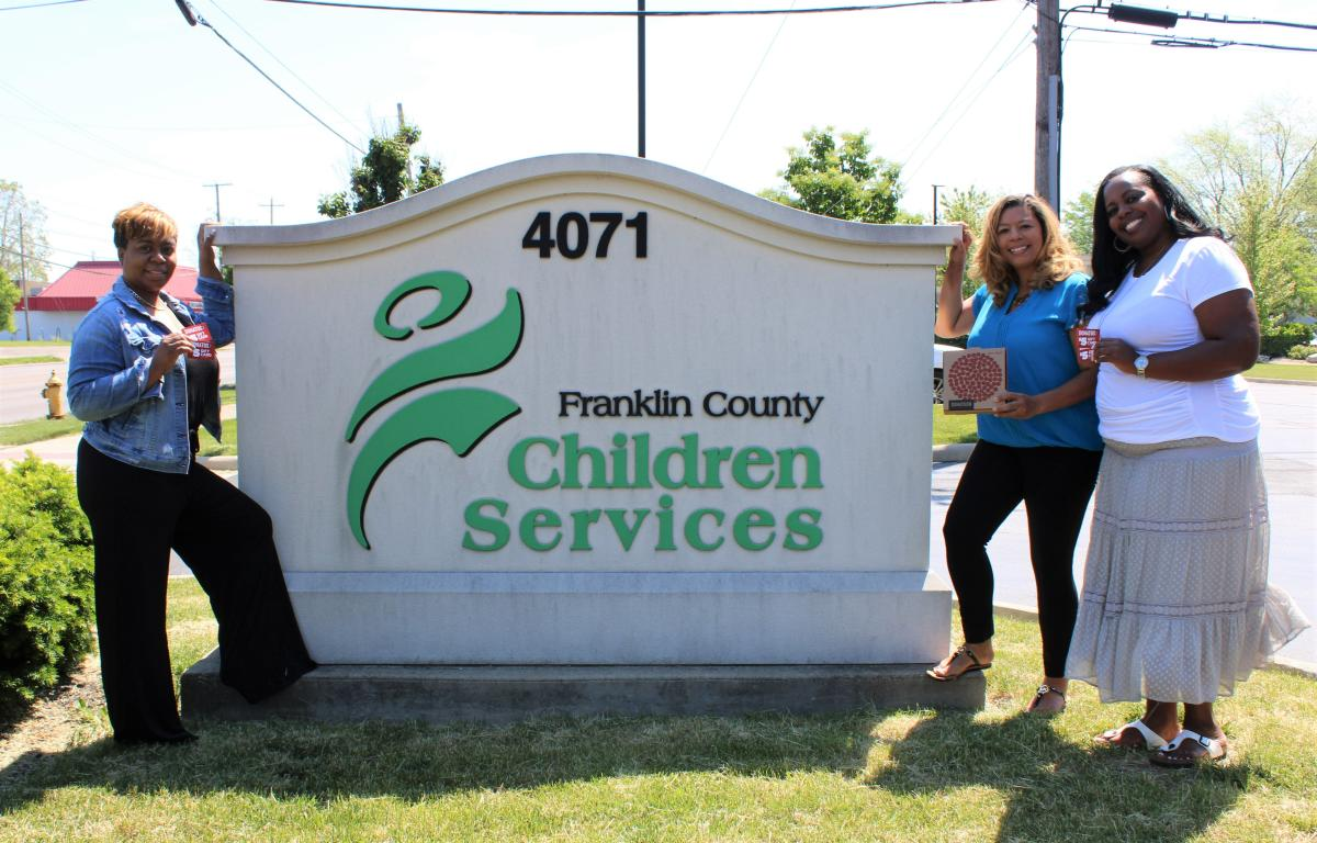 Franklin County Children's Services Pizza Party