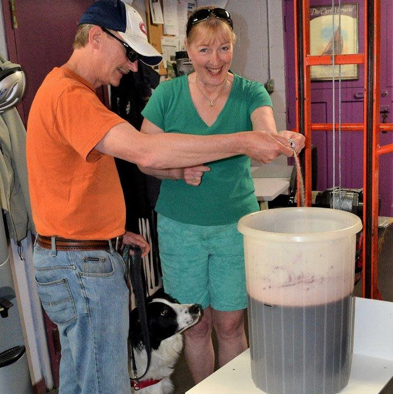 Steveston Winemakers' Owners - Heather and Bill