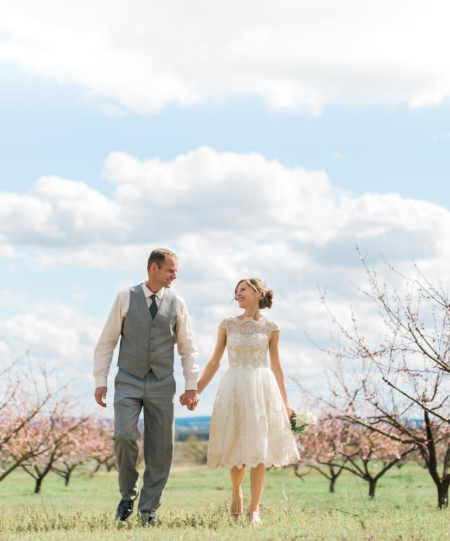 Peach Orchard Bride