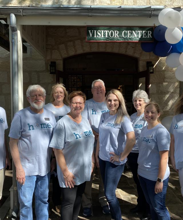Staff Photo at Visitor Information Center