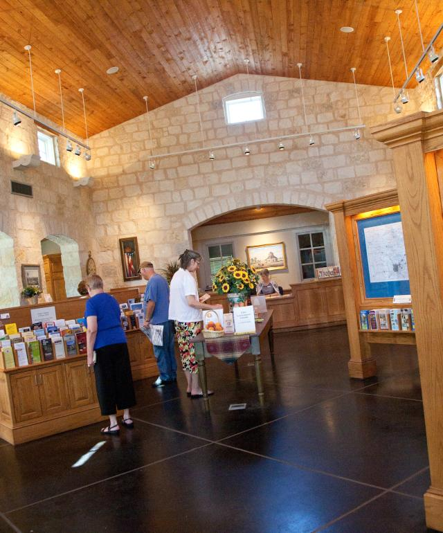 Visitor Information Center Interior