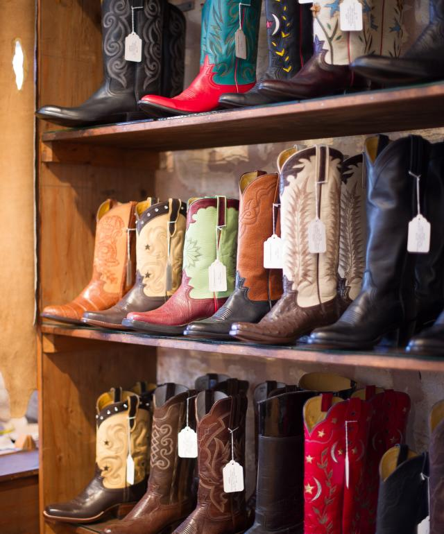 Boots in Easterling Boot Company