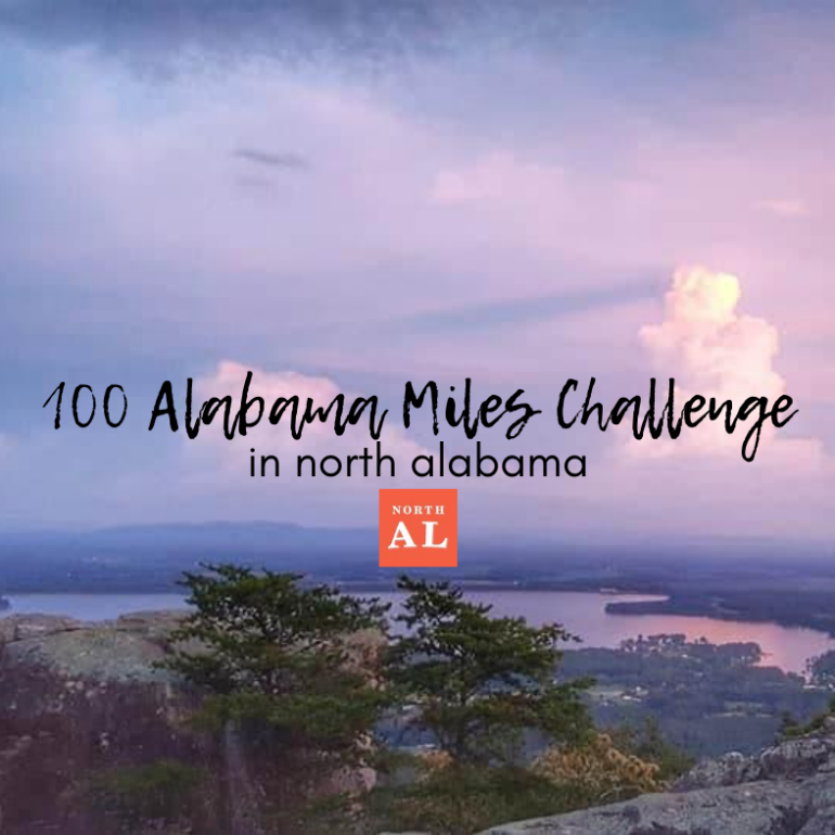 100 Alabama Miles Challenge blog post cover