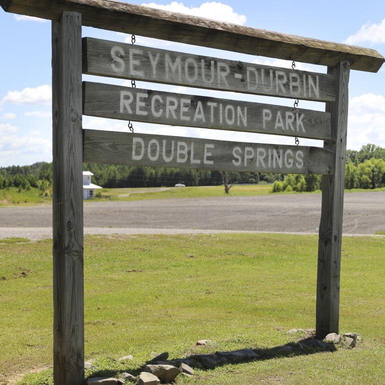 Seymour Durbin Park Double Springs