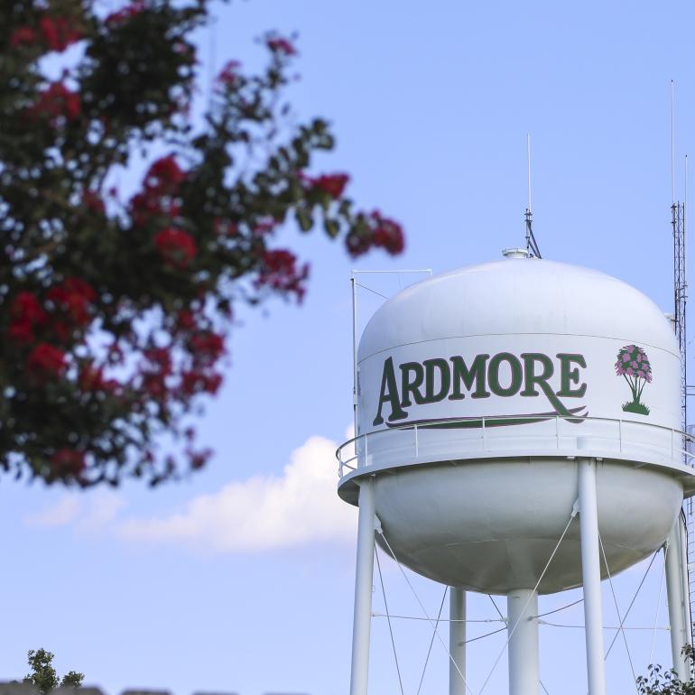 Ardmore Watertower