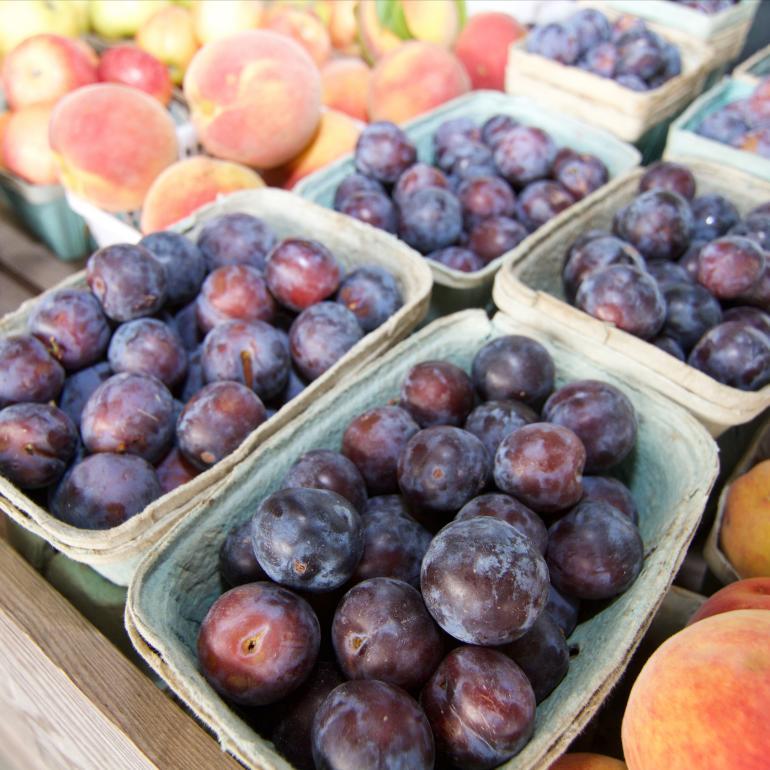 Fruit at farmers market