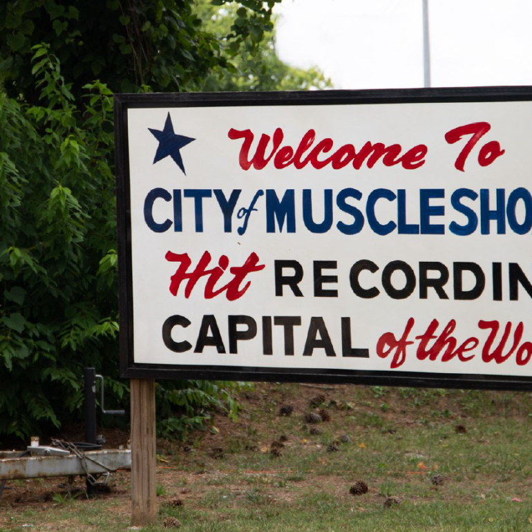 muscle shoals music sign