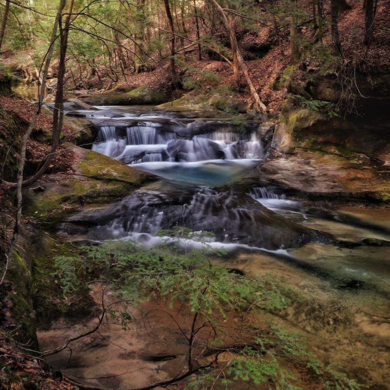 Bankhead waterfall by Lane Leopard