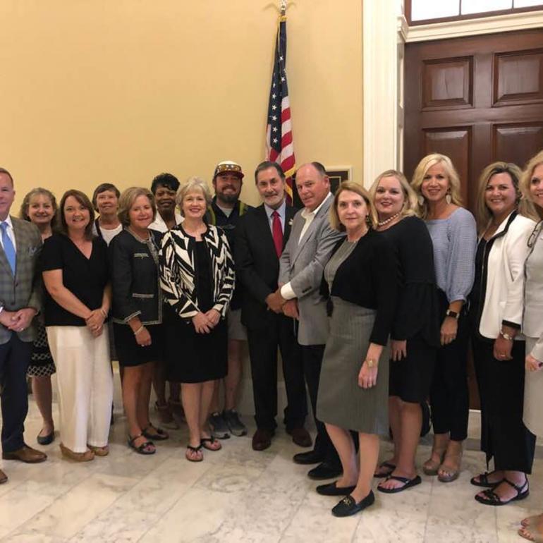 Team Alabama in Washington DC