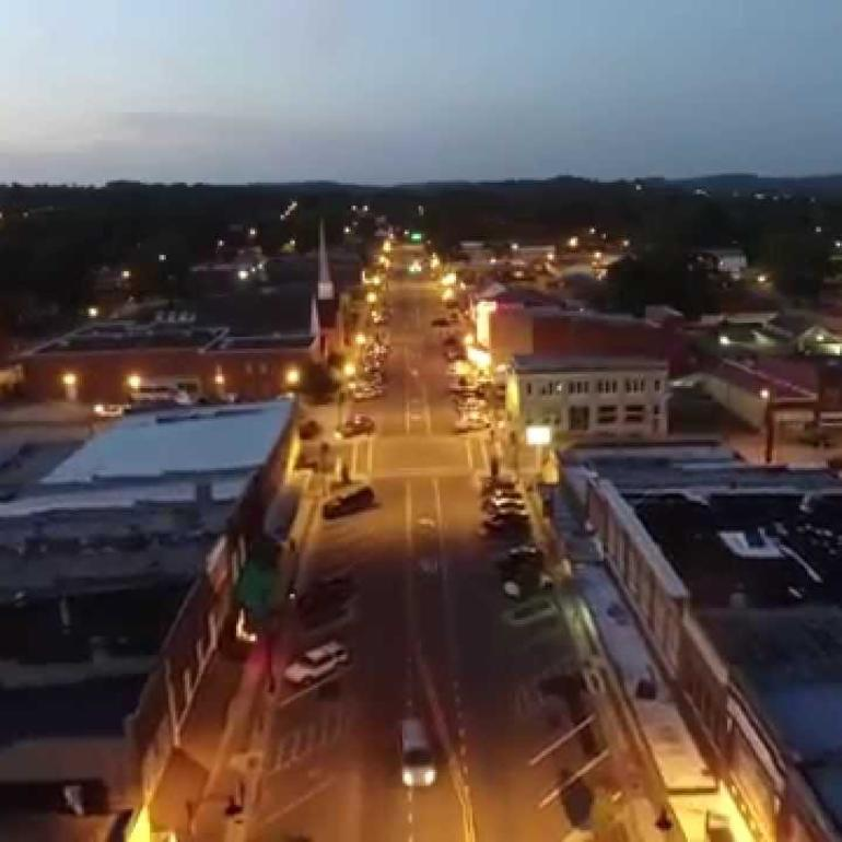 Downtown Russellville