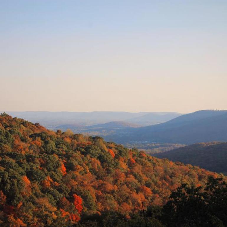 Monte Sano Fall Foliage