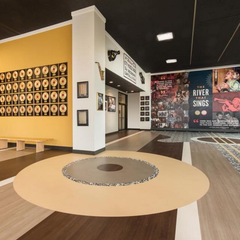 Shoals Gold Record Room