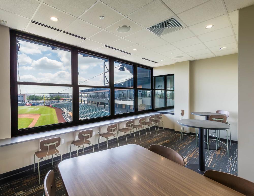 Private Suites at Riverfront Stadium