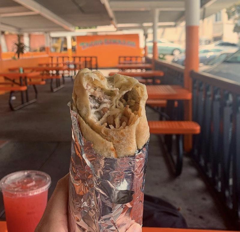 Tacos Sinaloa Burrito