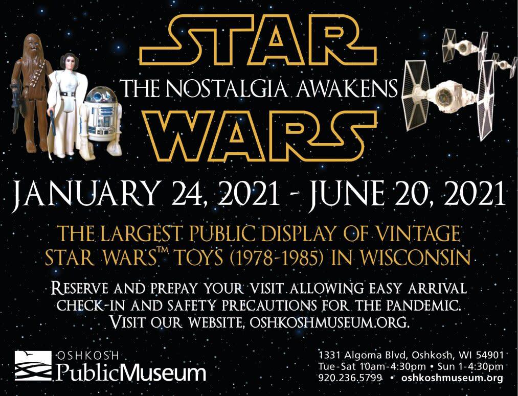 Star Wars Vintage Toy Display