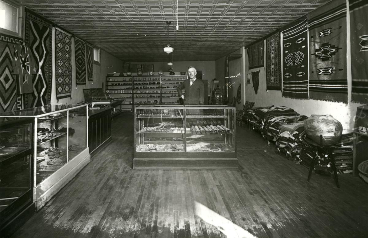 Interior of Maisel's shop, New Mexico Magazine