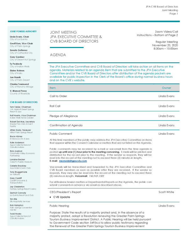 Nov 2020 Board Meeting Packet