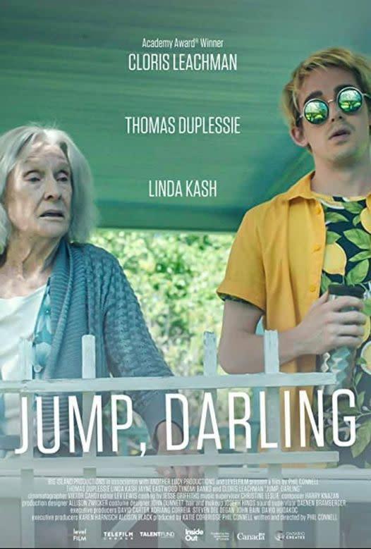 Poster for the film Jump, Darling starring Cloris Leachman