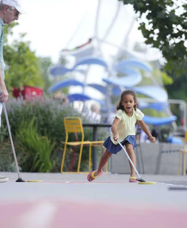 Monon Trail kid play