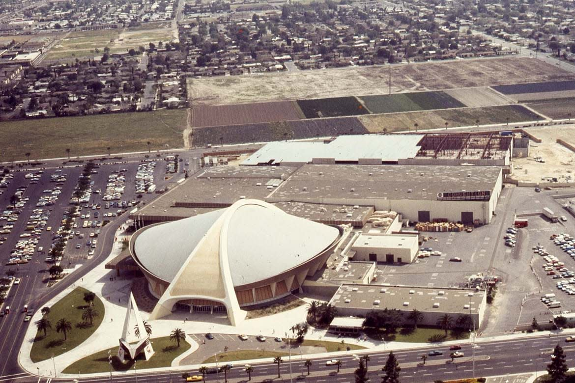 Anaheim Convention Center in 1974