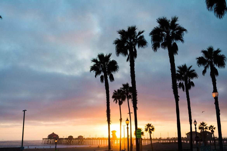 Sunset at Huntington Beach Pier
