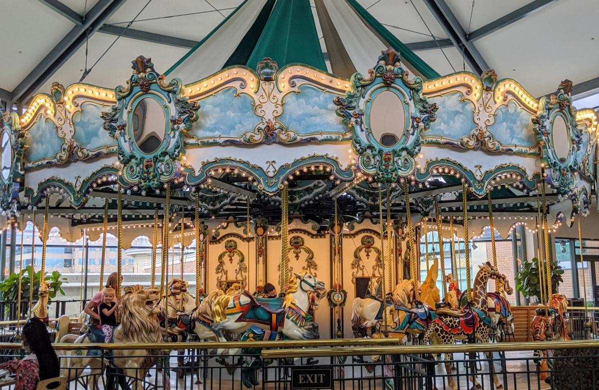 Carousel at The Woodlands Mall