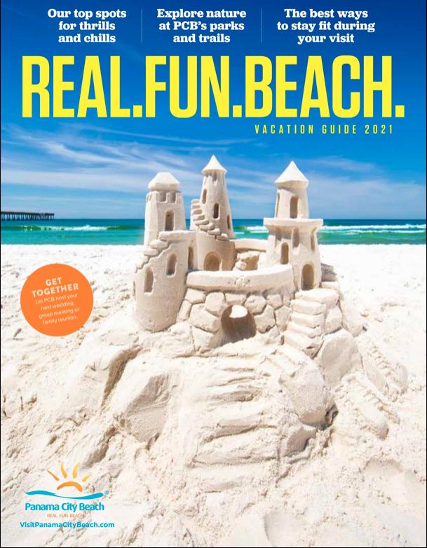 2021 Real Fun Beach Magazine Cover