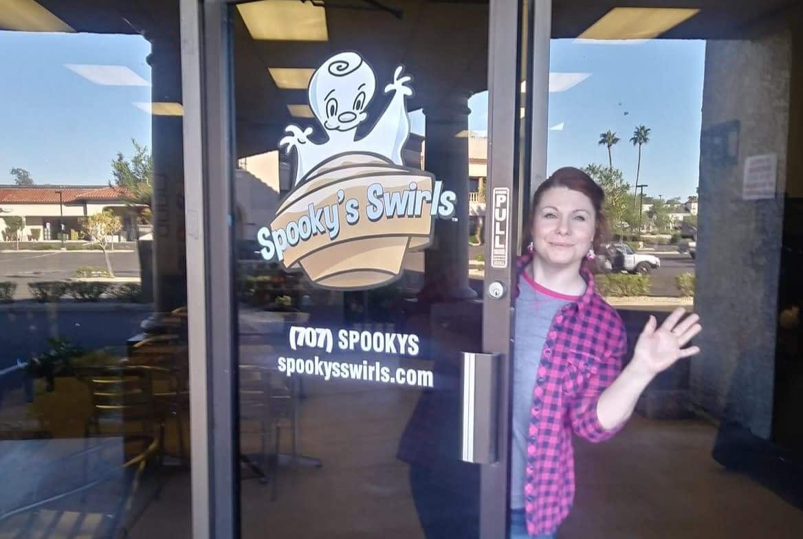 Spooky Swirls Gluten Free Bakery in Chandler