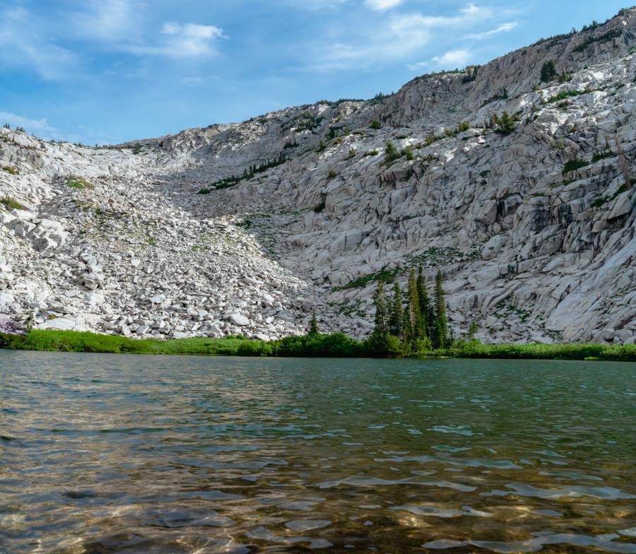 Lake Hardy Utah Valley