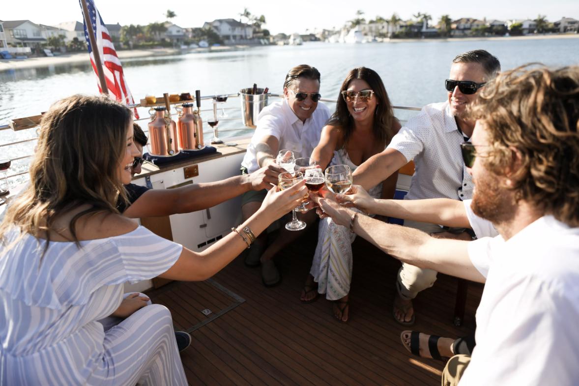 Huntington Beach private boat charters