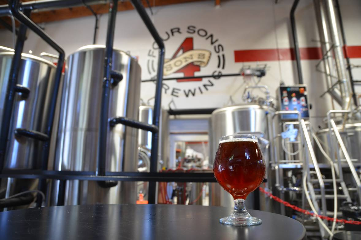 Four Sons Brewing in Huntington Beach