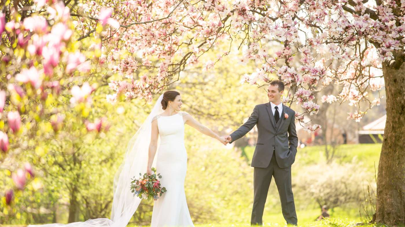 Spring Wedding in Albany
