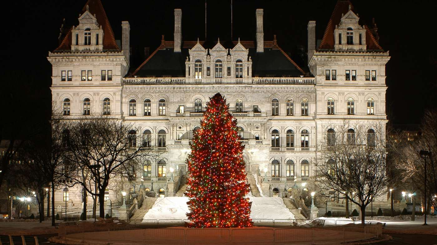 New York State Capitol Christmas Tree