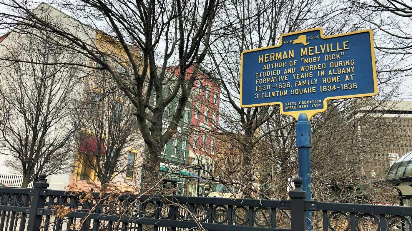 Herman Melville historical marker