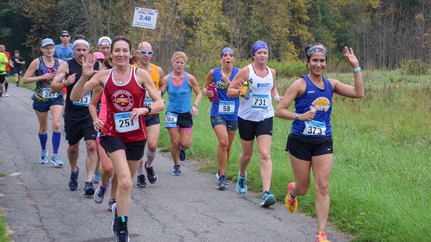Mohawk Hudson Marathon '18