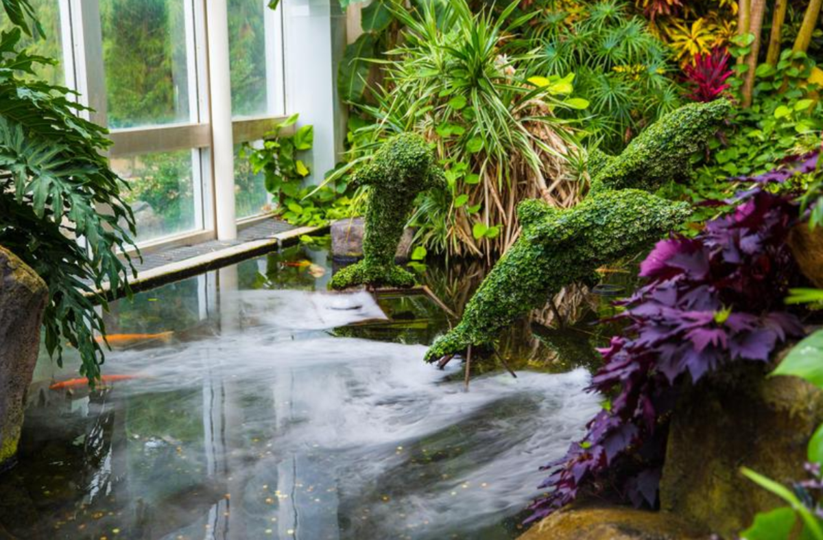 Exhibits at Franklin Park Conservatory and Botanical Gardens