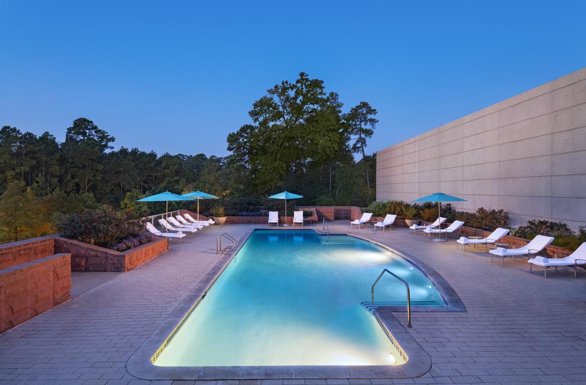 The Woodlands Waterway Marriott Pool